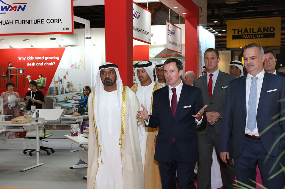 H.H. Sheikh Ahmed bin Saeed Al Maktoum Inaugurates Middle East Design and Hospitality Week 2019