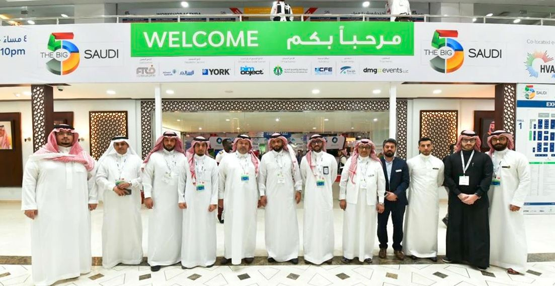 OFFICIAL DELEGATION OF THE MAKKAH CHAMBER OF COMMERCE & INDUSTRY ARRIVES IN JEDDAH TO ATTEND THE BIG 5 SAUDI
