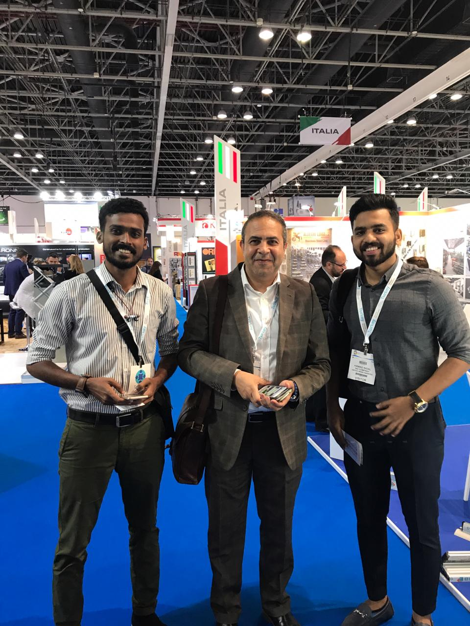 "It is an honor and a privilege for Material Bidders to participate in ""The Big 5 Dubai"" exhibition that was held from 26 - 29 November 2018."